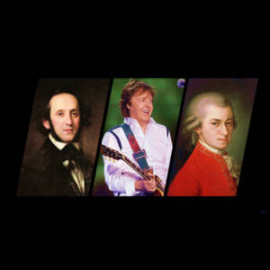 Mendelssohn, mccartney,mozart