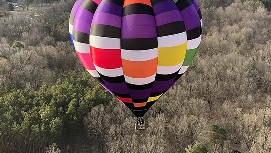 Hot Air Balloon Ride above the shores of West Michigan