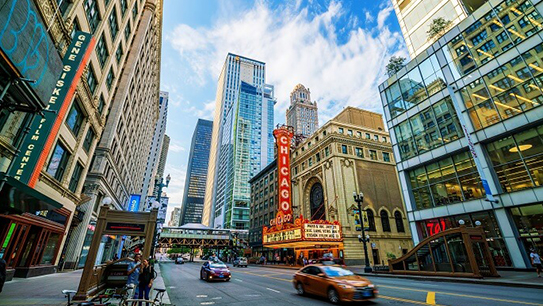 Enjoy a two night mini-vacation in Chicago.